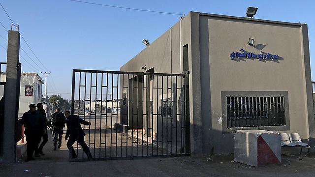 כרם שלום מהצד הפלסטיני (צילום: רויטרס)