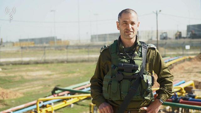 """אלוף משנה קובי הלר (צילום: דובר צה""""ל) (צילום: דובר צה"""