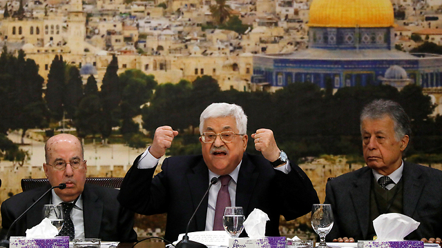 Abbas in Ramallah. Called Trump's peace efforts the 'slap of the century'  (Photo: Reuters)