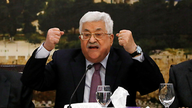 The moderate Palestinian leader's lies