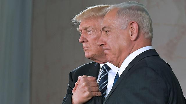 President Trump and PM Netanyahu (Photo: AFP)