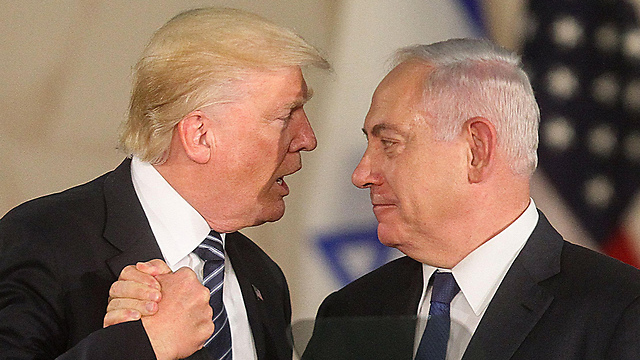 Trump and Netanyahu. Betting on one horse is a gamble on the future of the Jewish people  (Photo: AFP)