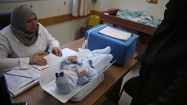 An UNRWA clinic in the Shati refugee camp (Photo: AP)