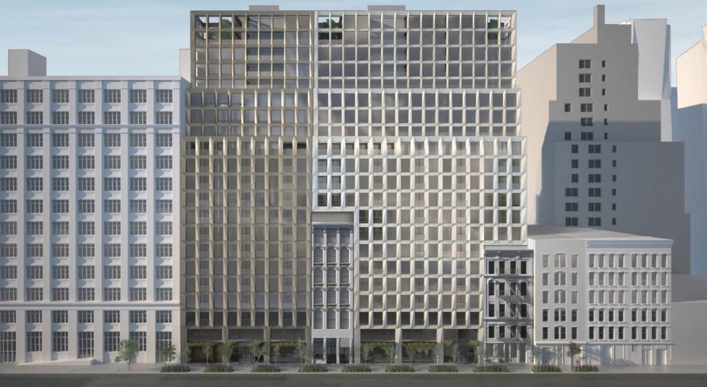 האפ 8. מבנה אחד עם דירות להשכרה, השני עם דירות למכירה ()