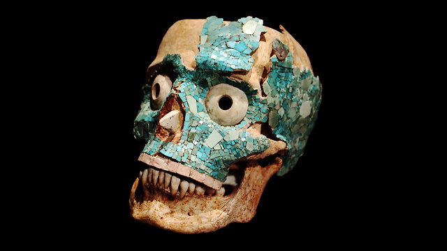 מסכה של אנשי המיקסטק, במוזיאון במקסיקו ()