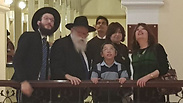 Moshe Holtzberg at the Chabad Center in Mumbai