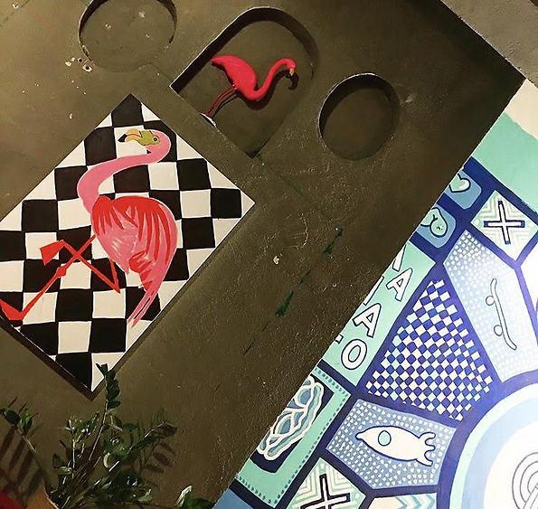 בית קפה עם תערוכות אומנות מתחלפות (צילום: סלומה מואה)