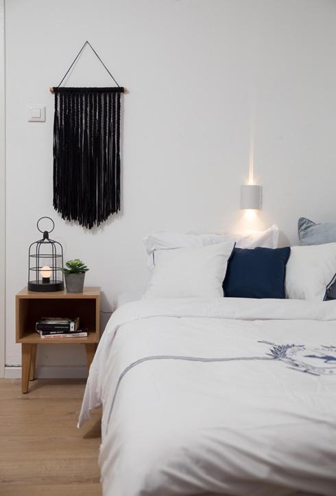 החדר של אריאל מצ'ילה. מעצבות: שרה כרמל ברמן, לירז ארז וענבל מור (צילום: נויה שילוני)