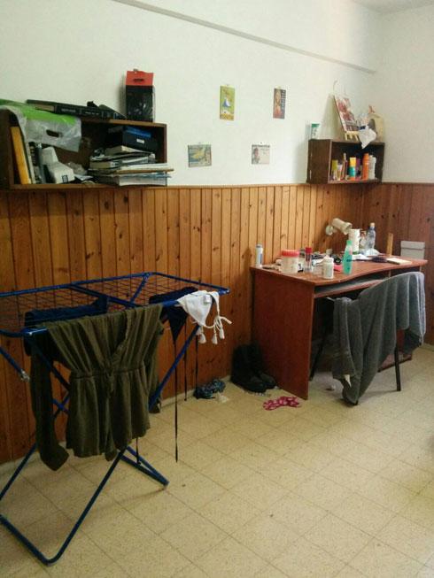 לפני השיפוץ. בית הנעורים הוותיק דרש טיפול (צילום: מירי בלבול)