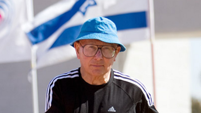 Prof. Shaul Ladany. 'The Nazis wanted to encourage the Jews to leave Germany' (Photo ;Tal Shahar)