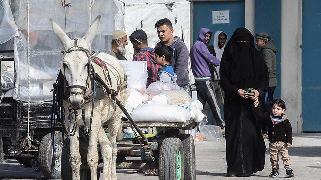 The economic reality in the strip could lead to a military conflict or, worse, to a combination between governmental chaos and a serious humanitarian crisis (Photo: AFP)