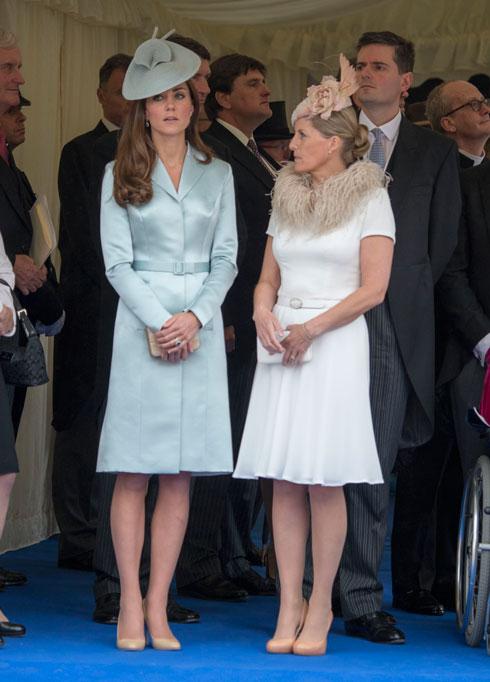 הרוזנת והדוכסית (צילום: AP)