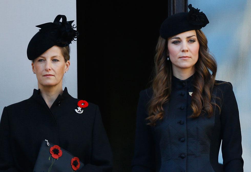 בניגוד לקייט מידלטון, הרוזנת סופי היתה מעורבת בלא מעט שערוריות מתוקשרות (צילום: AP)