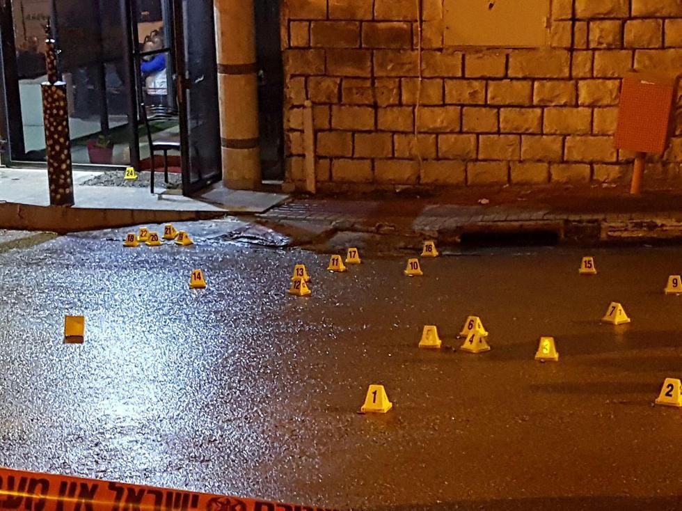 זירת הרצח, אמש בטייבה ()