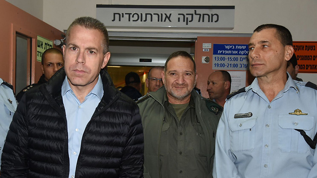 Public Security Minister Gilad Erdan (Photo: Avihu Shapira)