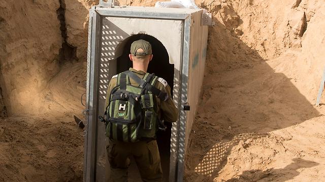 חייל בגבול עזה. ארכיון (צילום: EPA) (צילום: EPA)