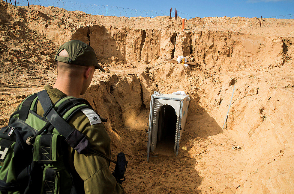 The tunnel's entrance (Photo: Reuters)