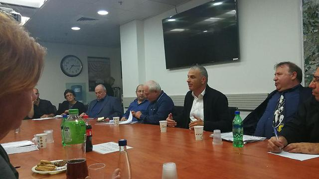 The meeting between Minister Katz and Kahlon and disabled organizations' representatives was recorded