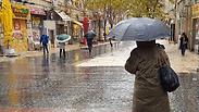 גשמים עזים בגולן ובחוף. בסופ