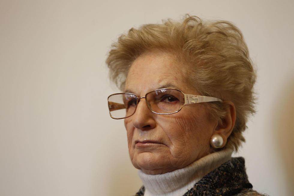 Holocaust survivor Liliana Segre (Photo: AP)