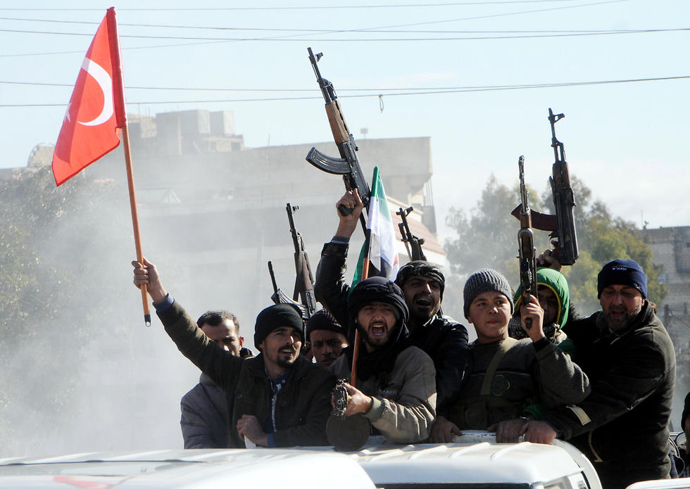 Turkey-backed Free Syrian Army fighters (Photo: EPA)