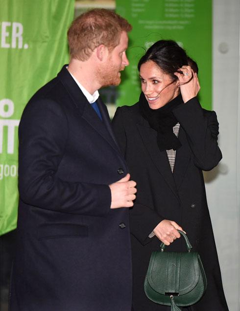 גם הנסיך הארי בן ה-33 סובל מניצני הקרחה (צילום: Gettyimages)