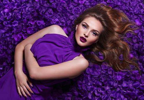 Самый модный цвет сезона: ультрафиолет. Фото: shutterstock