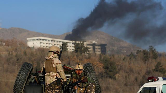 פיגוע של הטליבאן באפגניסטן (צילום: רויטרס) (צילום: רויטרס)