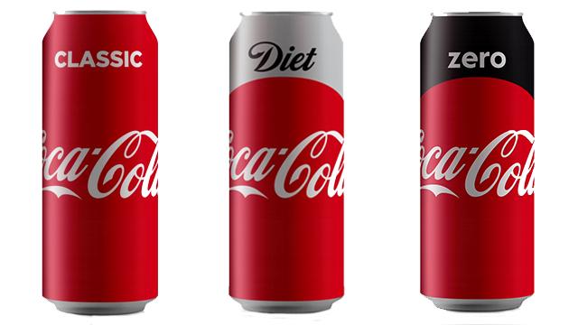 המראה החדש של משקאות קוקה-קולה (צילום: סטודיו פרומרקט )