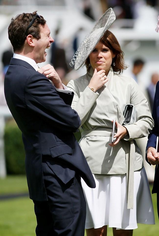 על מה אתה צוחק בדיוק? הנסיכה יוג'יני וג'ק ברוקסבנק (צילום: Gettyimages)