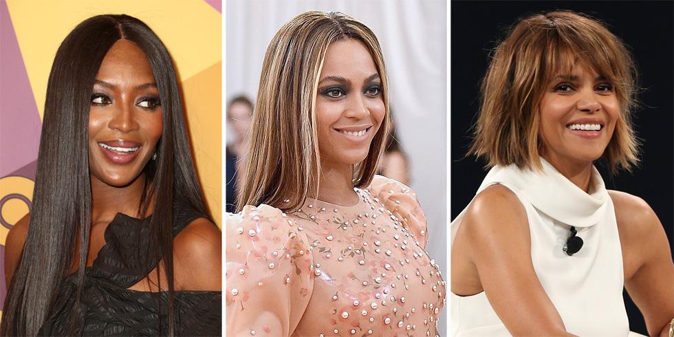 משקיעות טונות של זמן וכסף במטרה אחת ברורה: להחליק את השיער. האלי ברי, ביונסה ונעמי קמפבל (צילום: Gettyimages)