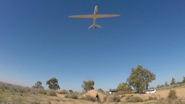 Skylark model UAV (Photo: IDF Spokesperson's Unit)