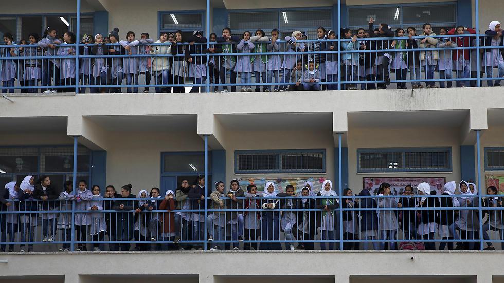 An UNRWA girls school in Gaza (Photo: AP)