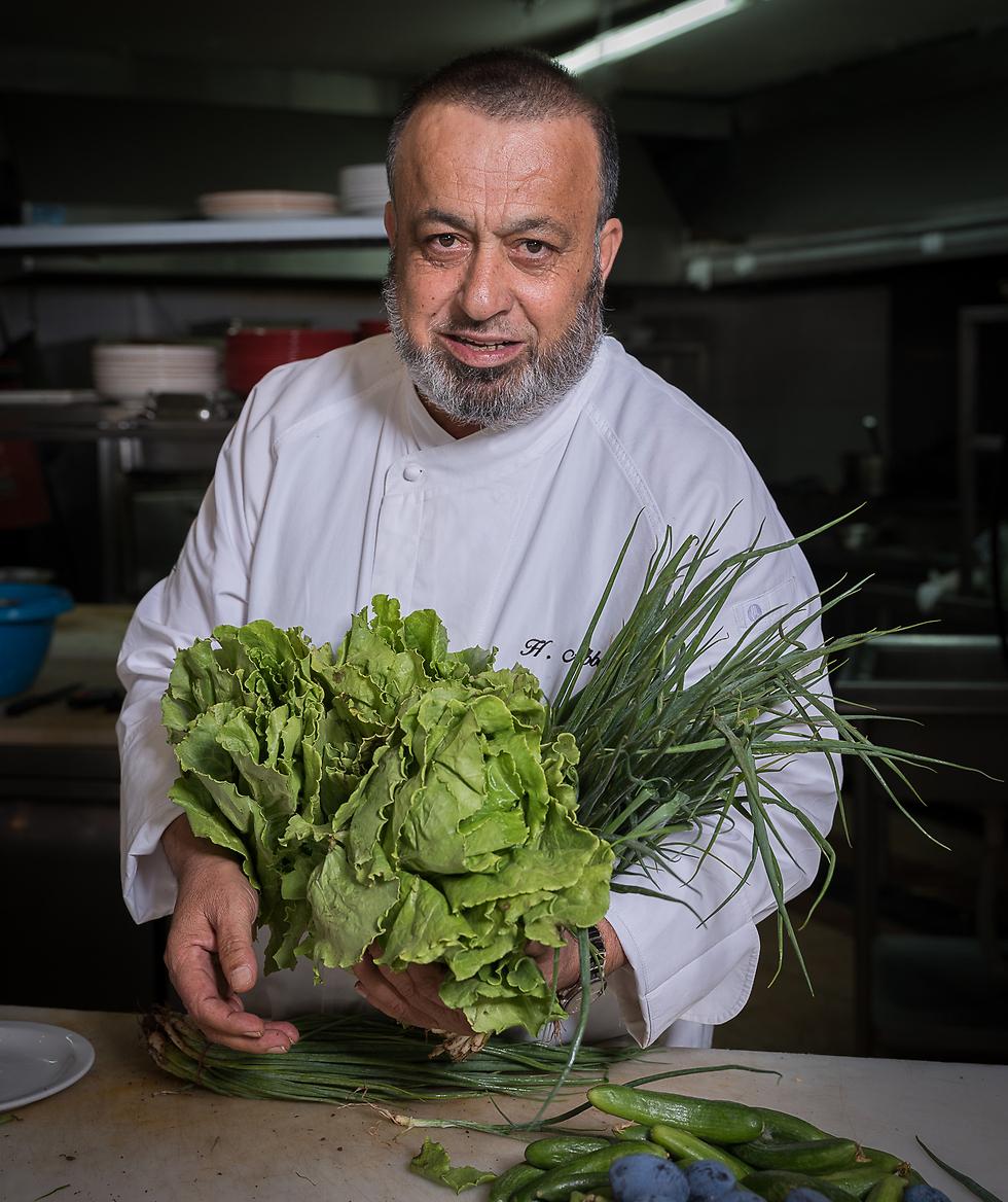 """חוסאם עבאס,מסעדת """"אלבאבור"""" (צילום: אנטולי מיכאלו) (צילום: אנטולי מיכאלו)"""