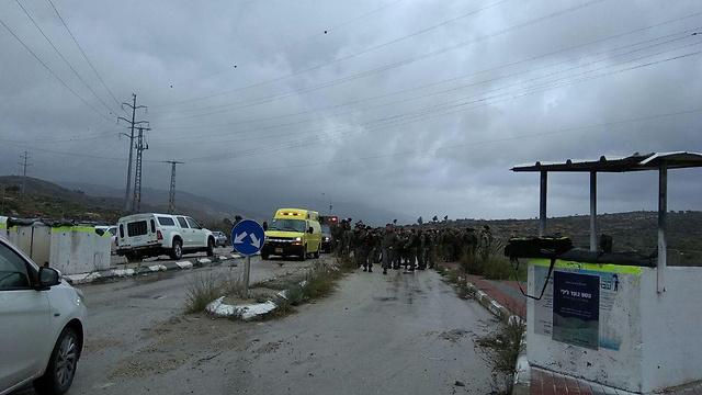 Попытка теракта возле Ариэля. Фото: Керен Перельман, TPS