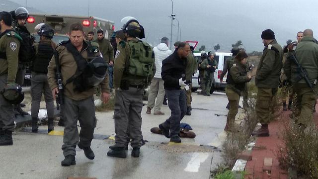Попытка теракта возле Ариэля. Фото: Керен Перельман, TPS (Photo: TPS)
