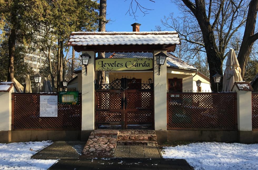 מרק גולאש אמיתי במסעדת Leveles csárda (צילום: לי שטח)