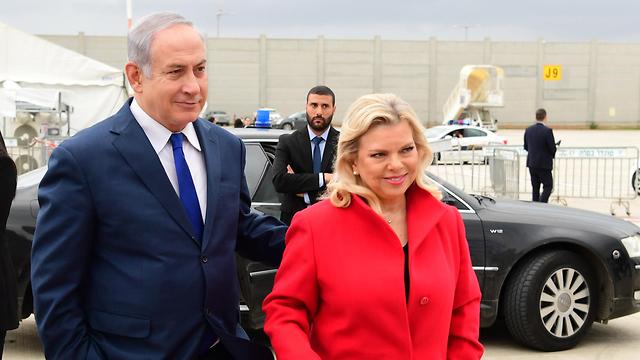 Benjamin, Sara Netanyahu (Photo: Gov. Press Office)