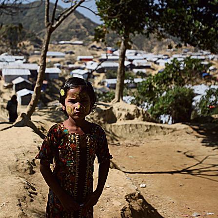 ילדה במחנה הפליטים נאיאפרה, החדש ביותר עד כה