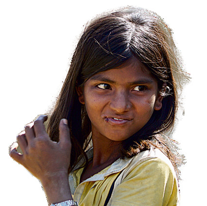 ילדת רוהינגה במחנה נאיאפרה