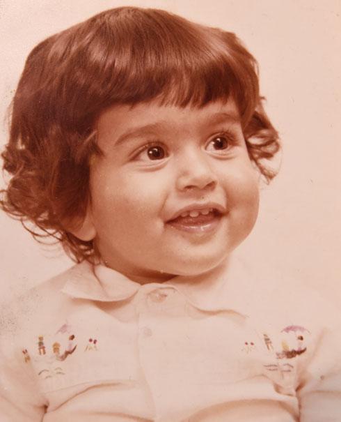 """אורן כהן, תמונת ילדות. """"אמא שלי הפכה לנפגעת חרדה"""" (צילום רפרודוקציה: חיים הורנשטיין)"""