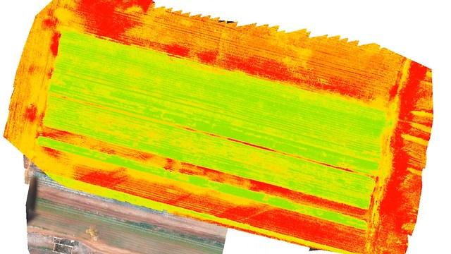 מצלמת הרחפן יודעת לזהות איזורים בעייתיים (צילום: אירודרום) (צילום: אירודרום)