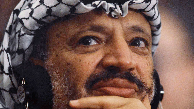 Arafat's secret journals, written over the course of two decades, were revealed Sunday (Photo: AP)