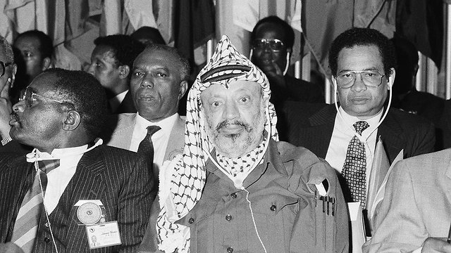 Arafat, 1987 (Photo: AP)