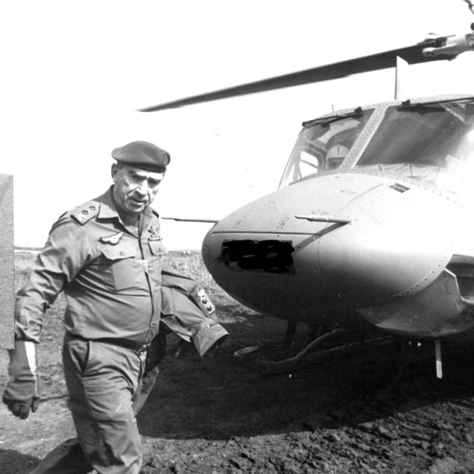Former IDF chief Rafael Eitan (Photo: Shaul Golan)