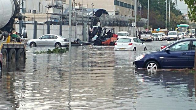 Massive rainfall hit nationwide last week (Photo: Yuval Haninovich)