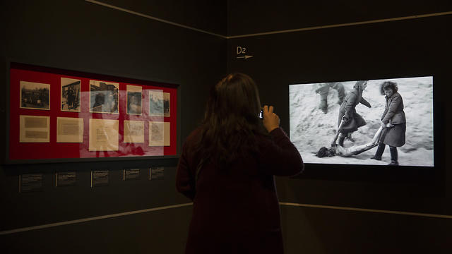 'Flashes of Memory' exhibition of the photos and videos. (Photo: AP)