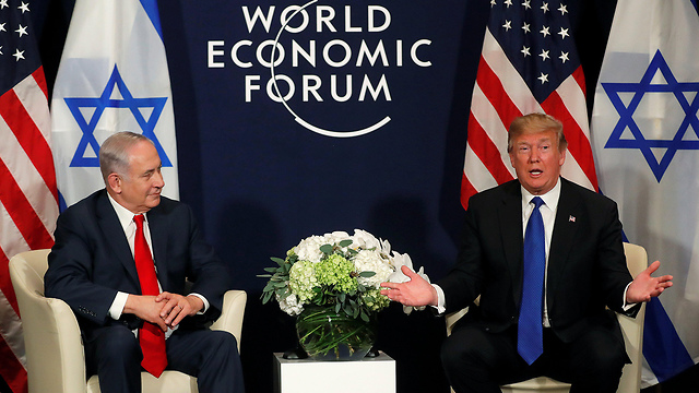 PM Netanyahu (L) and US President Trump (Photo: Reuters)