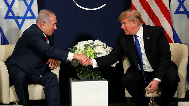 PM Netanyahu (L) with President Trump (Photo: Reuters)