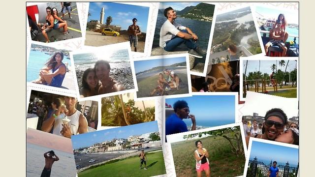"""תמיד יישארו להם הזכרונות מהטיול. תמונה מתוך ספר שהפיקה להם חברת לופה (צילום: הופק בשת""""פ חברת לופה) (צילום: הופק בשת"""